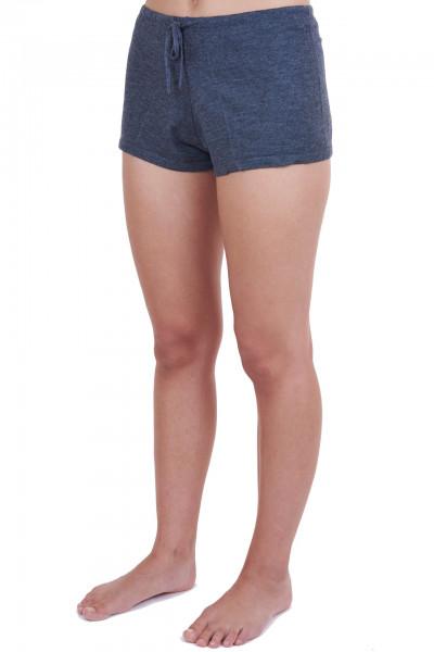 dunkelgraue kaschmir shorts