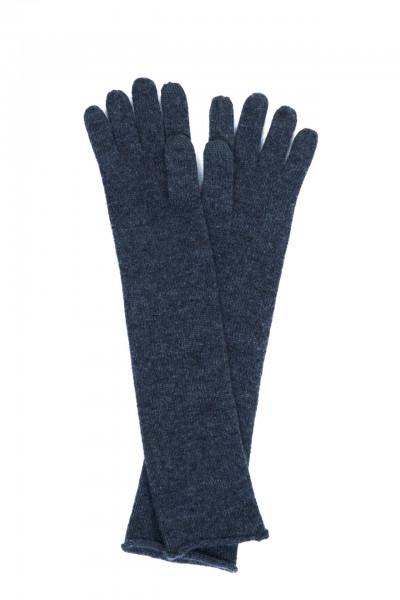 lange anthrazit kaschmir handschuhe