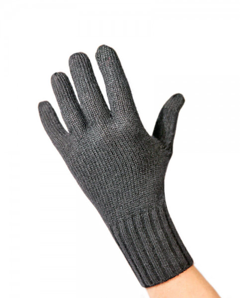 anthrazit kaschmir handschuhe